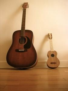guitar-va-ukulele